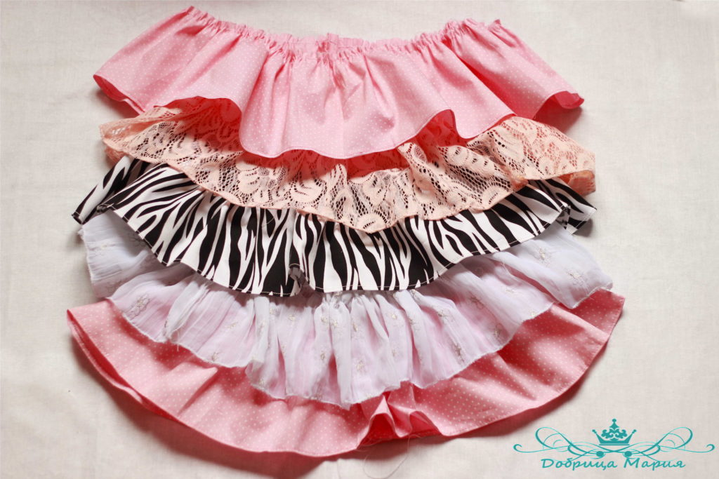 МК пышная юбка с воланами9