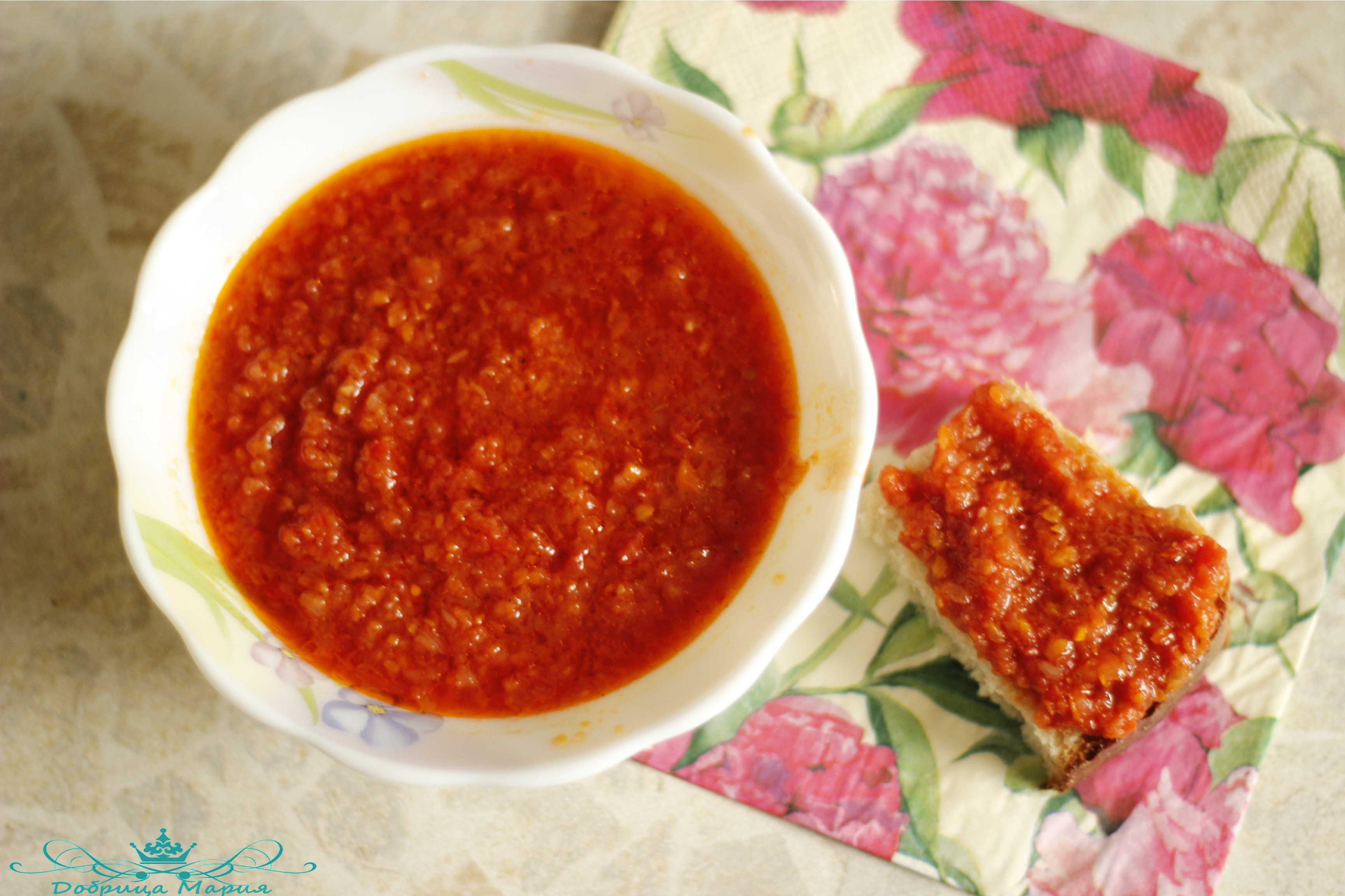 Икра из помидоров на зиму рецепты