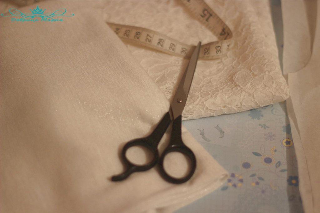 Блузка из кружева мк
