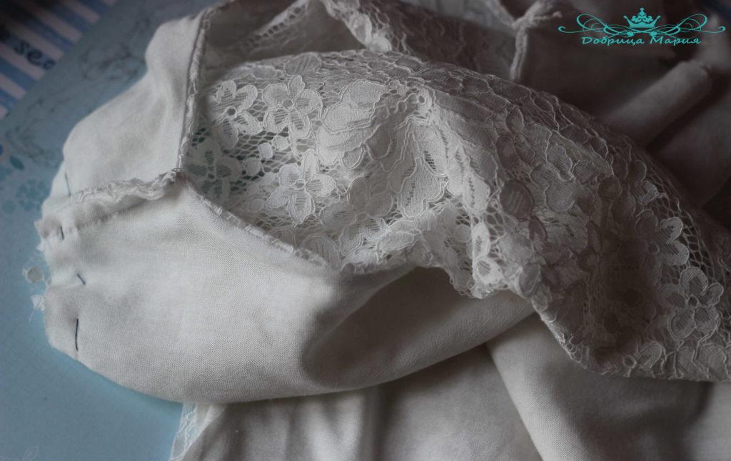 Блузка из кружева мк15