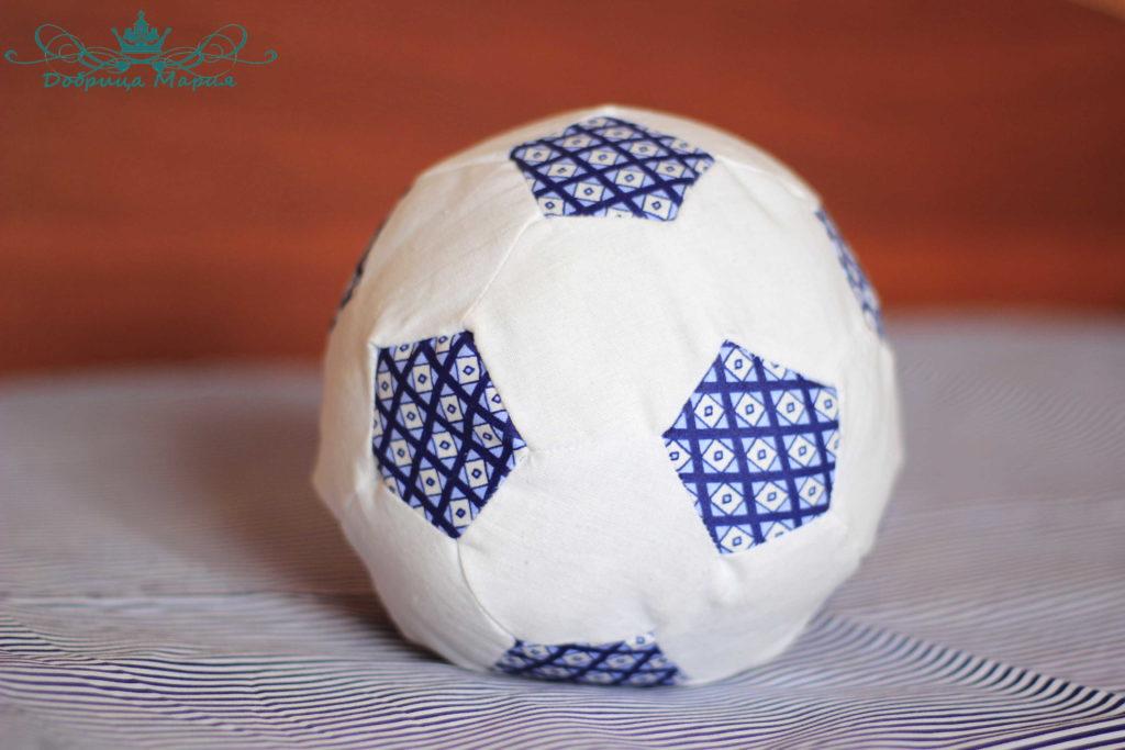 мяч из ткани своими руками