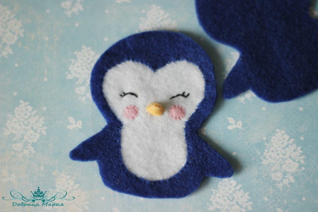 пингвин из фетра14