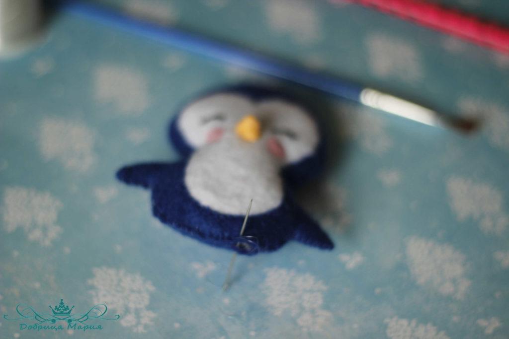 пингвин из фетра18
