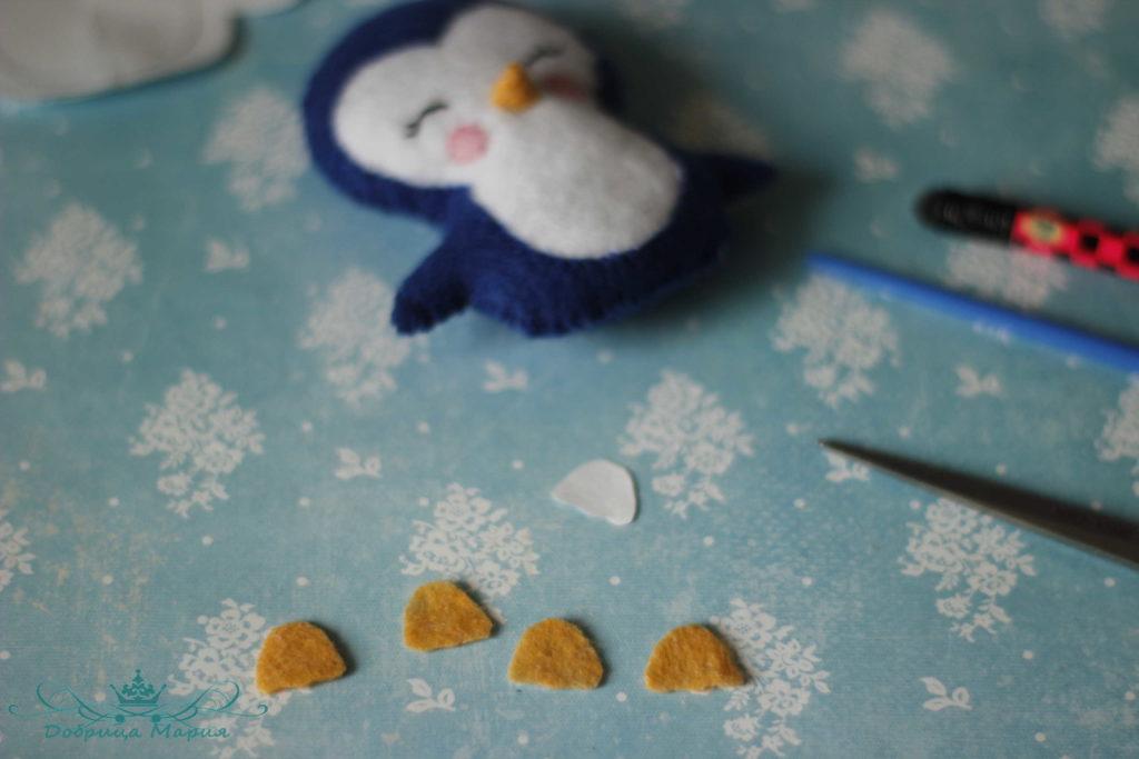 пингвин из фетра19