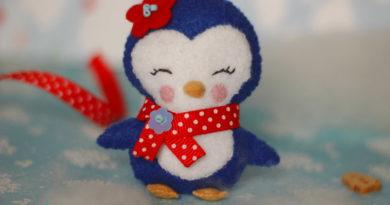 пингвин из фетра24