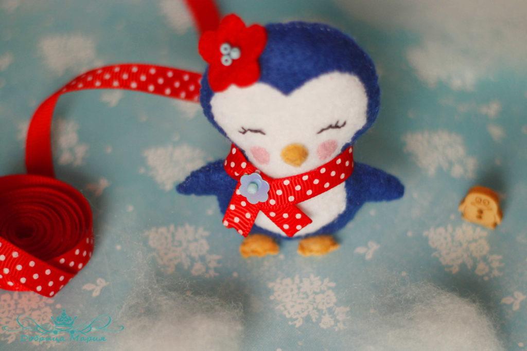 пингвин из фетра25