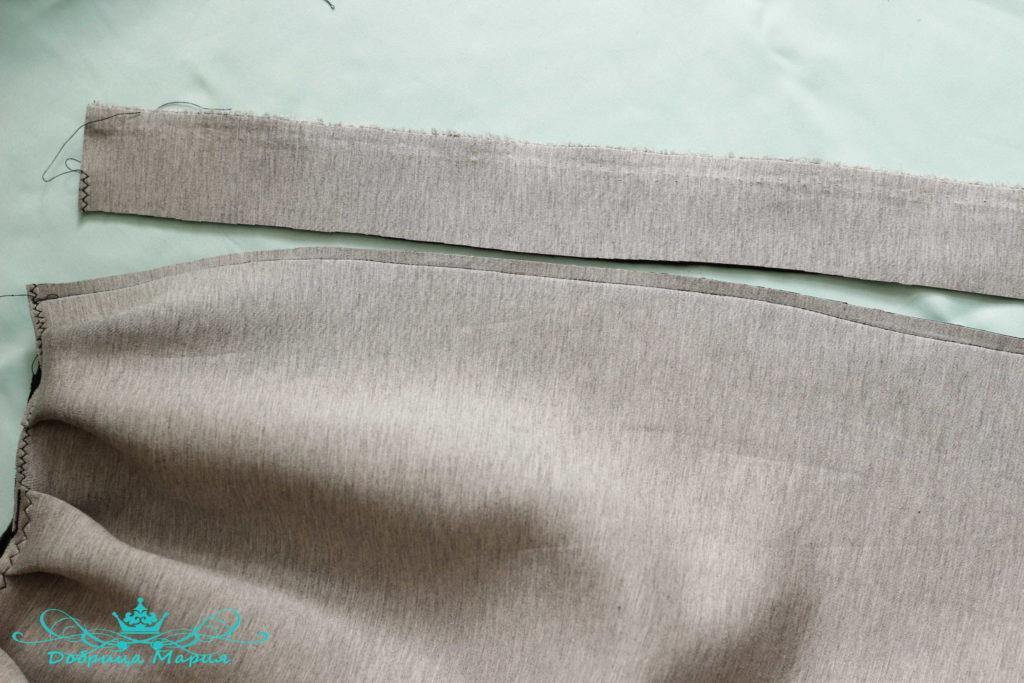 юбка с аппликациями маков10