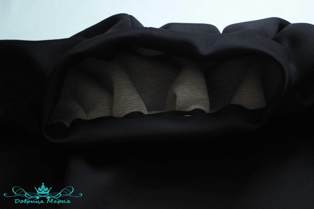 юбка с аппликациями маков20