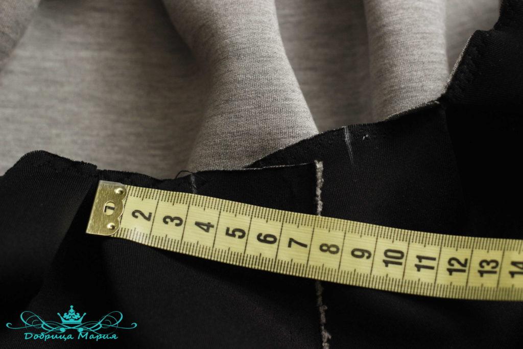 юбка с аппликациями маков7