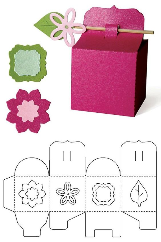Шаблон для подарков 20