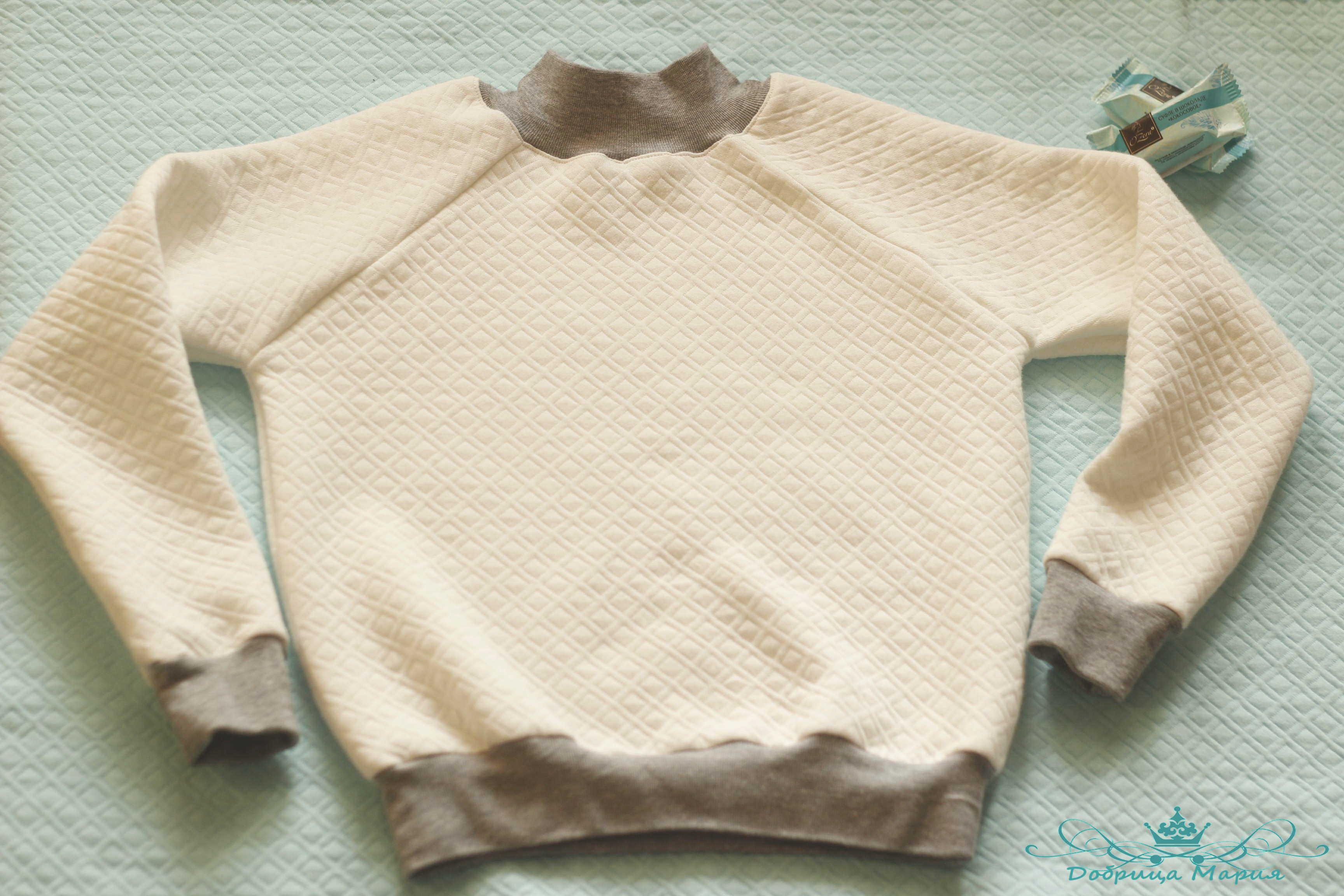 Как сшить свитшот для детей своими руками 80