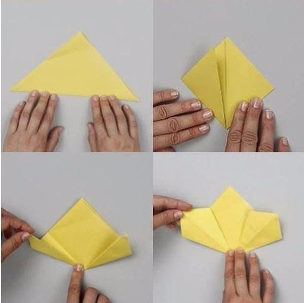 кусудама из бумаги