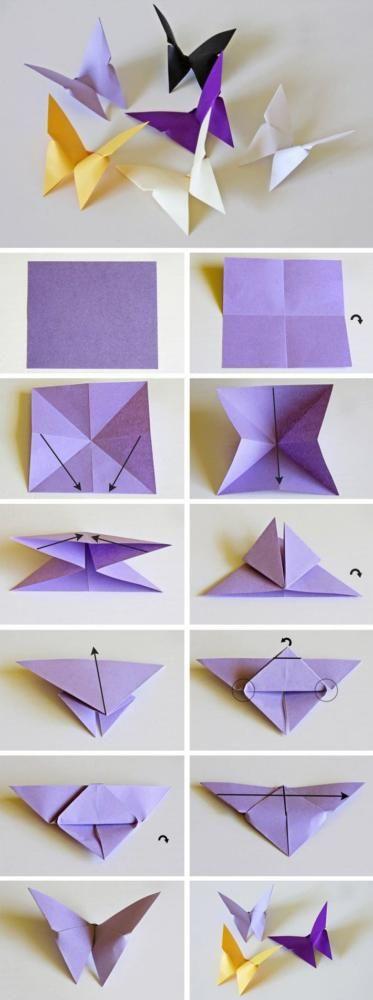 оригами бабочки