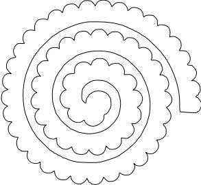 шаблон цветка из фетра2