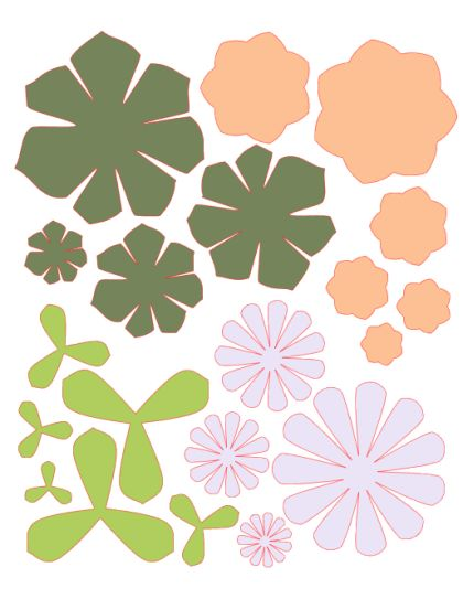 шаблон цветов1