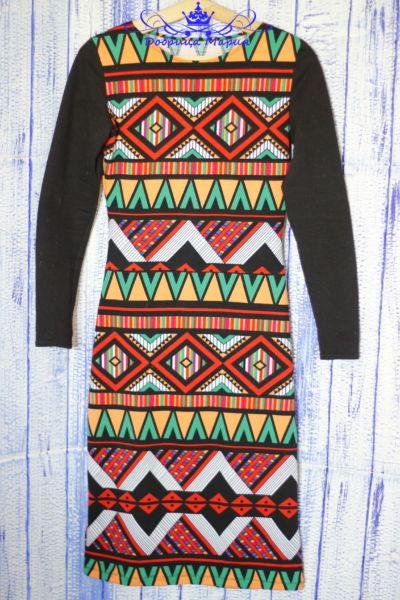 Платье из трикотажа Марокко