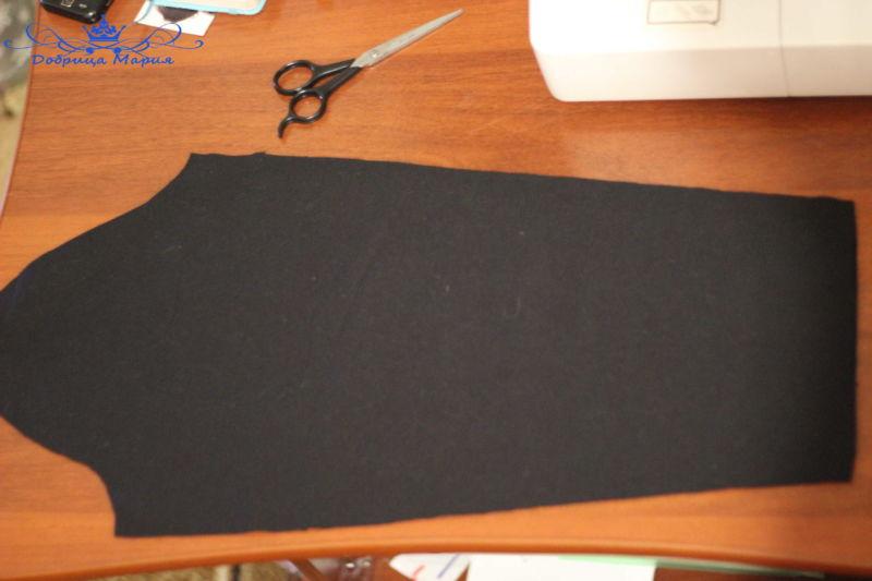платье из трикотажа 10