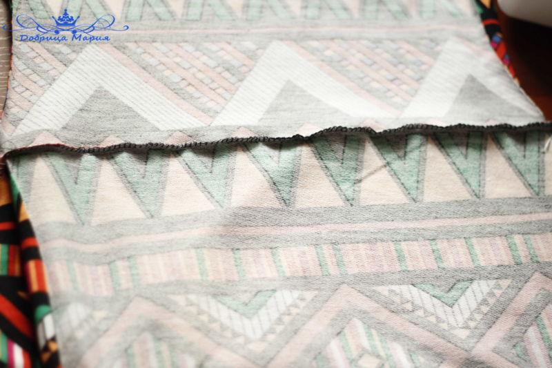 платье из трикотажа 12
