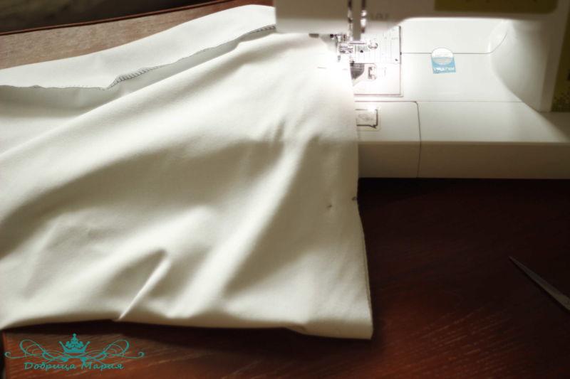 юбка из футера 11