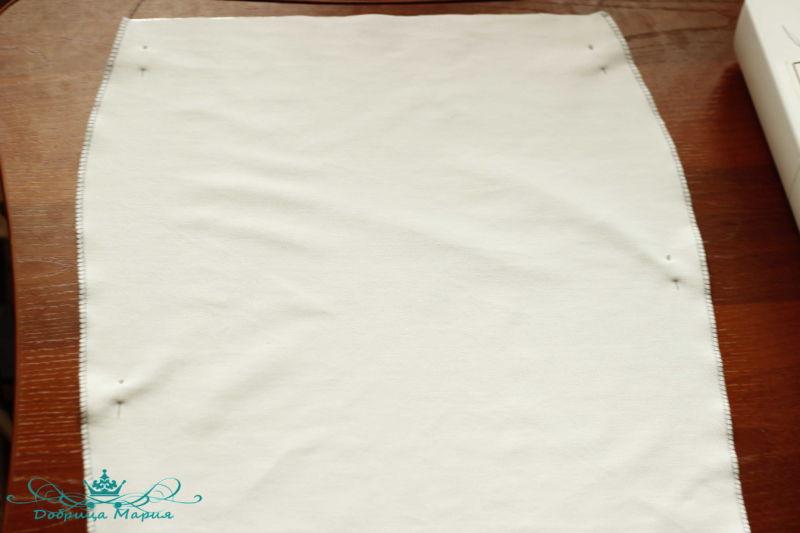 юбка из футера 8