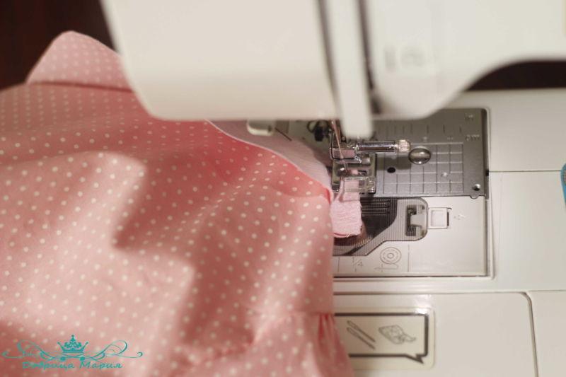 блузка с баской на девочку своими руками25