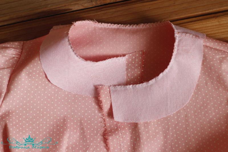 блузка с баской на девочку своими руками27