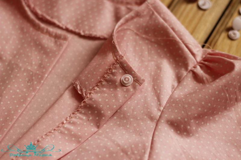 блузка с баской на девочку своими руками44