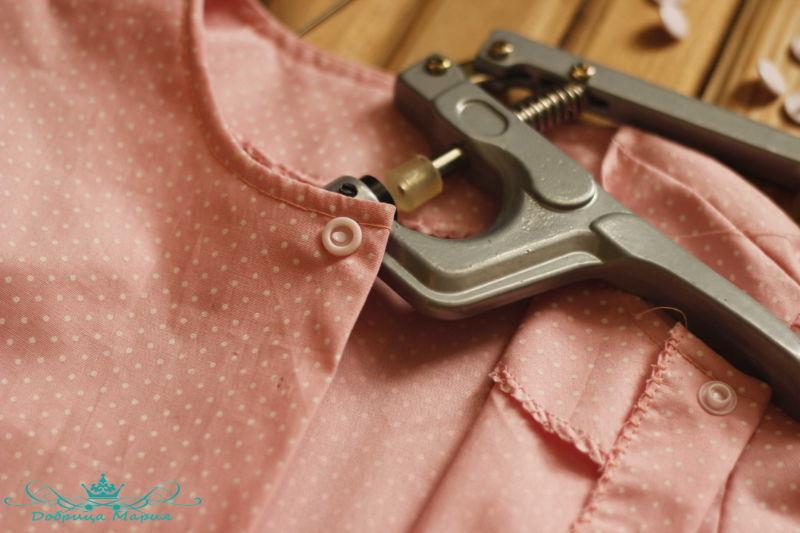 блузка с баской на девочку своими руками48