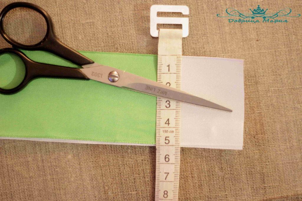 3 пошаговый мастер класс по созданию канзаши с острым лепестком