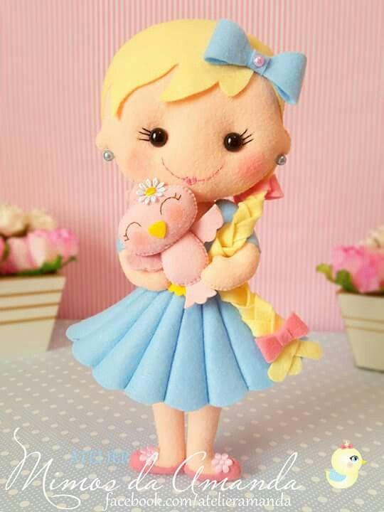 Как сделать куклу из фетра своими руками фото 144