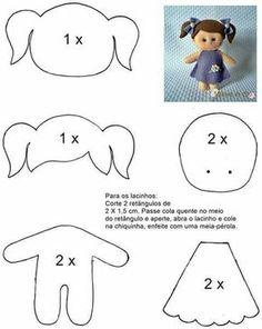 Как сделать куклу из фетра своими руками фото 105