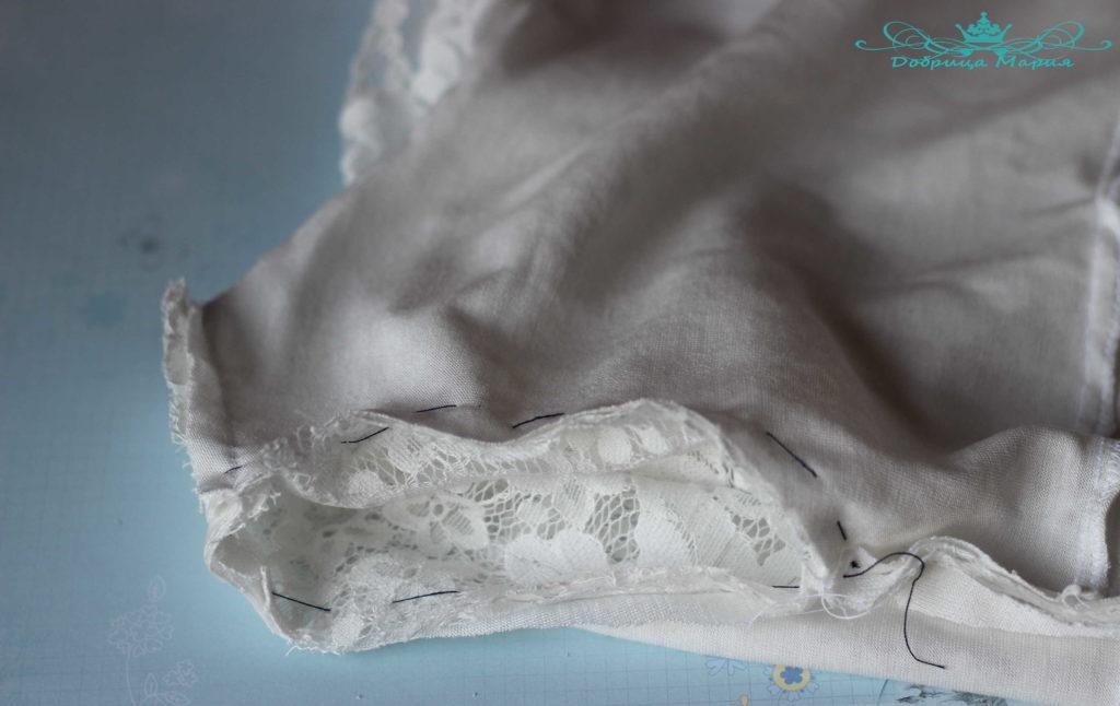 Блузка из кружева мк14