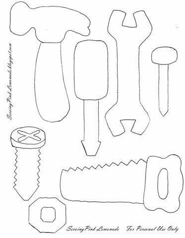 Инструменты из фетра