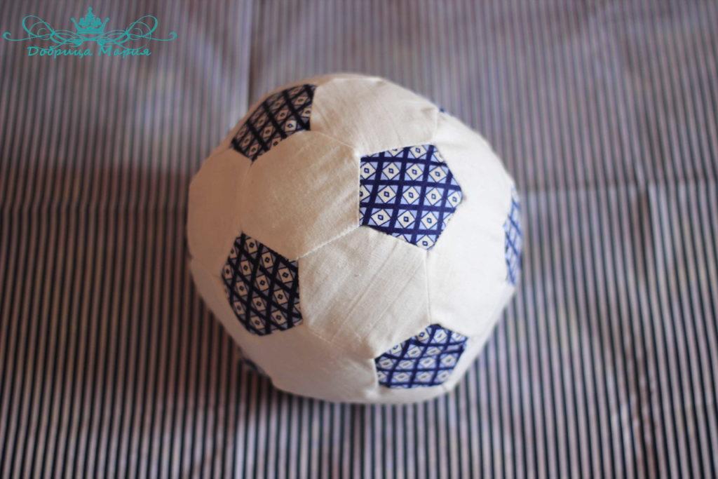 мяч из ткани своими руками1