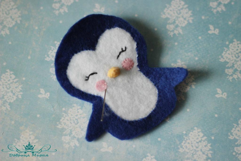 пингвин из фетра13