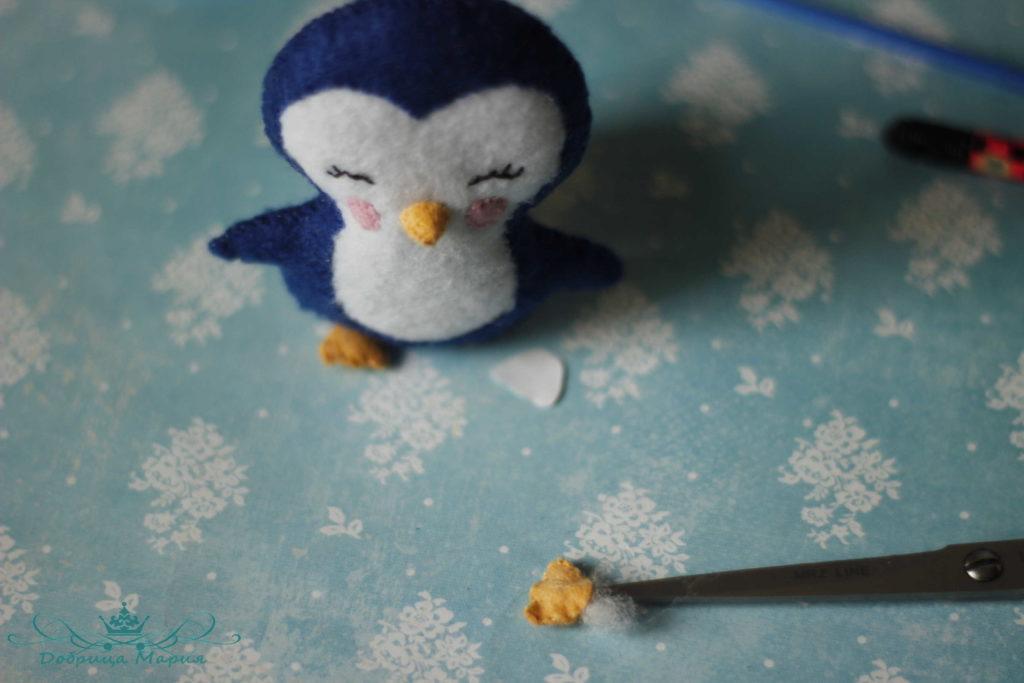 пингвин из фетра20