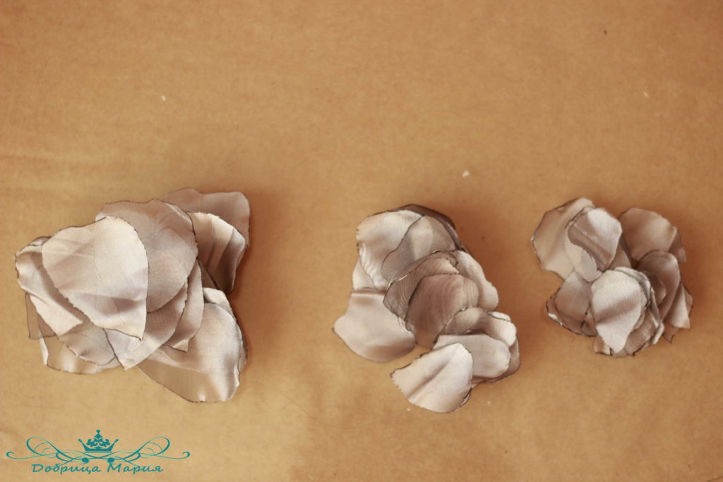цветок из органзы3
