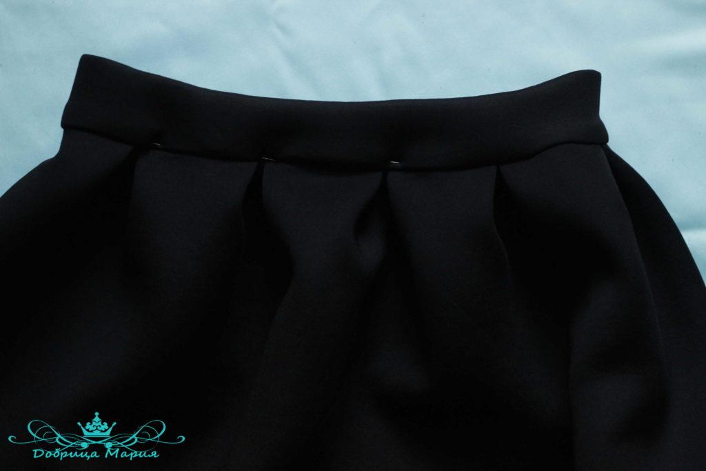 юбка с аппликациями маков19