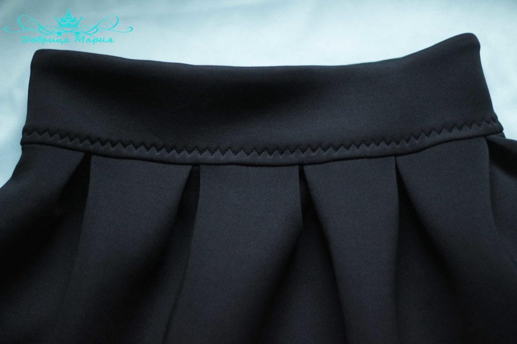 юбка с аппликациями маков39
