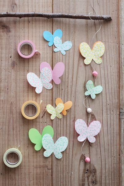 гирлянды бабочки1