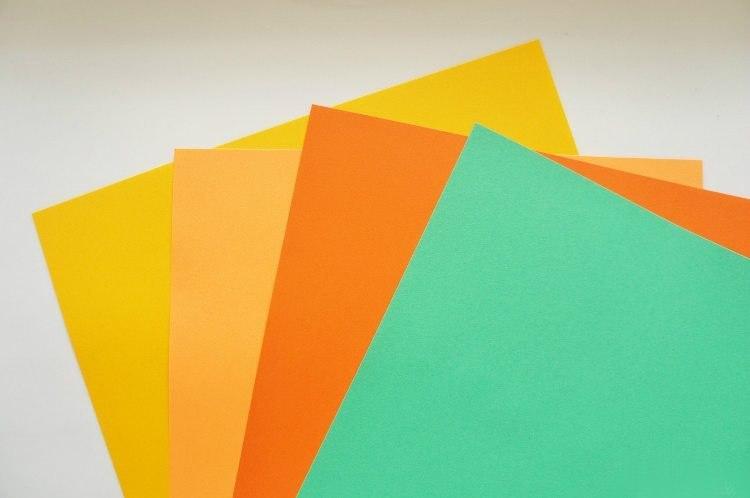мандаринки из бумаги1