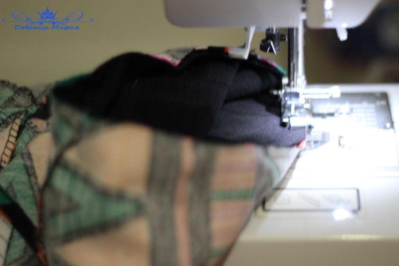 платье из трикотажа 22