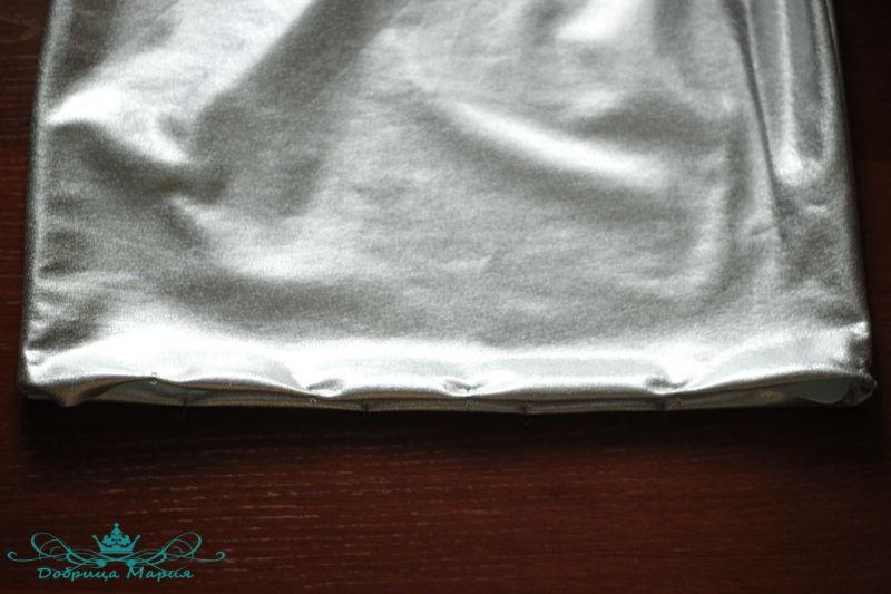 юбка из футера 14