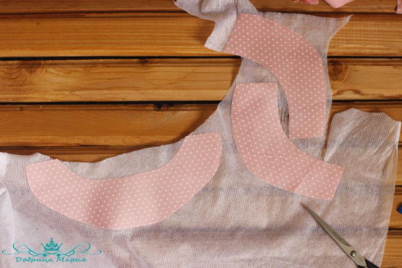 блузка с баской на девочку своими руками23
