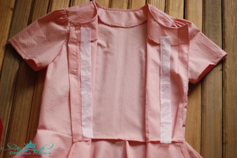 блузка с баской на девочку своими руками39