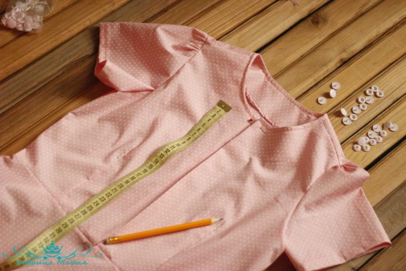 блузка с баской на девочку своими руками41