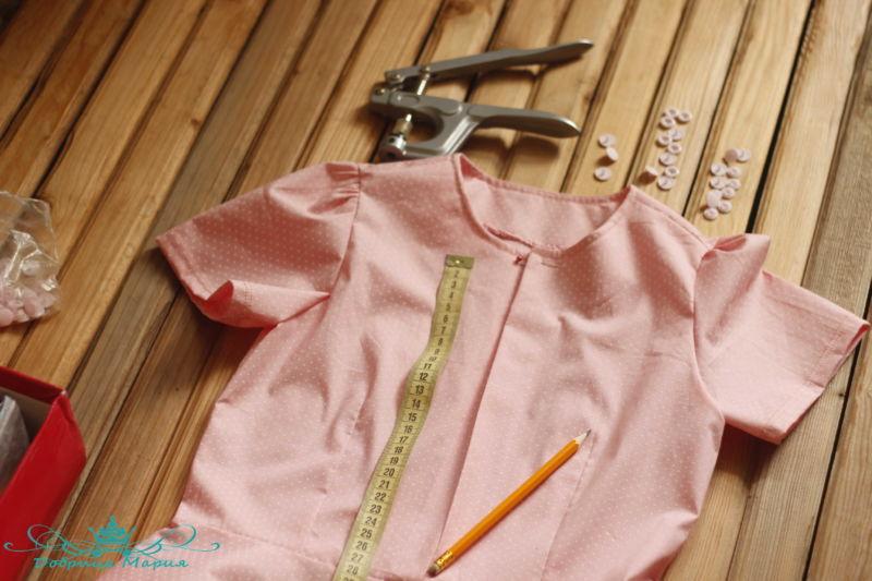 блузка с баской на девочку своими руками42