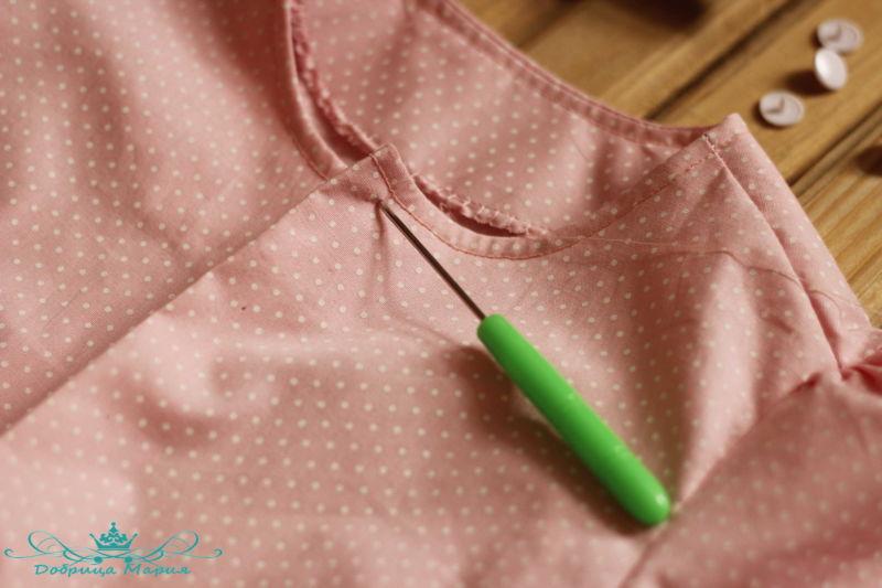 блузка с баской на девочку своими руками43