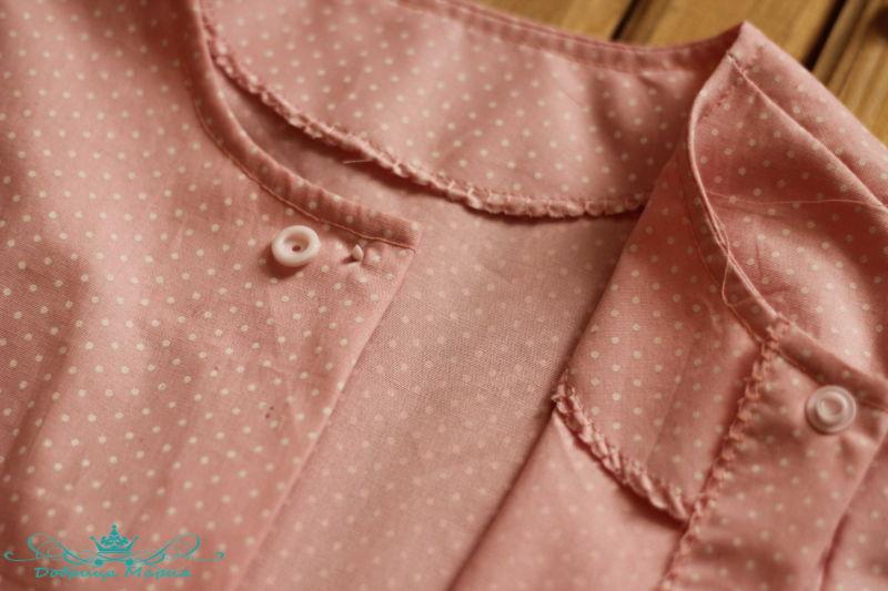 блузка с баской на девочку своими руками46