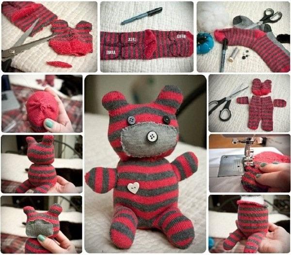 Düğme-ve-çorap-ile-teddy-bear-oyuncak-ayıcık-yapımı-resimli-anlatımı